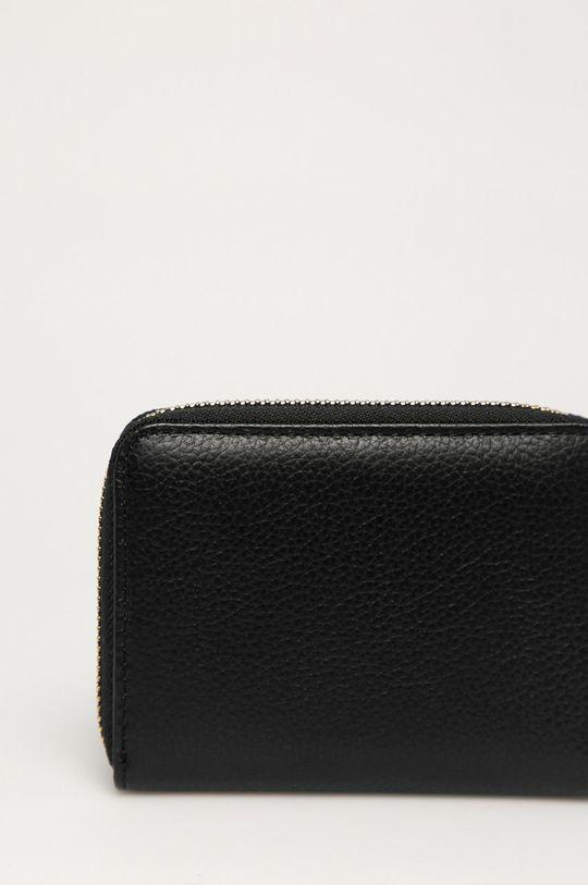 černá Patrizia Pepe - Kožená peněženka