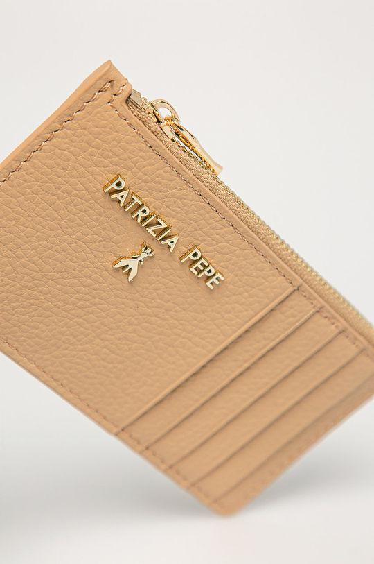 Patrizia Pepe - Kožená peňaženka béžová