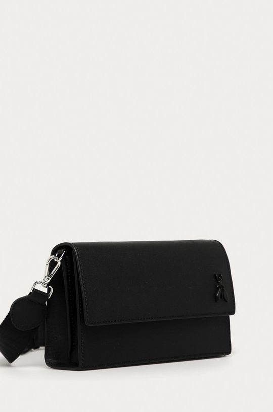 Patrizia Pepe - Kožená kabelka čierna
