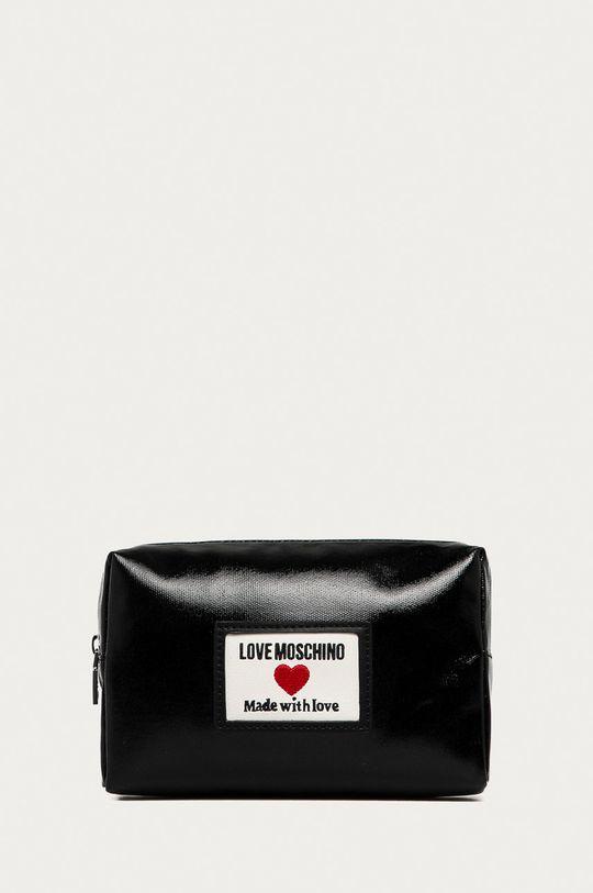 černá Love Moschino - Kosmetická taška Dámský