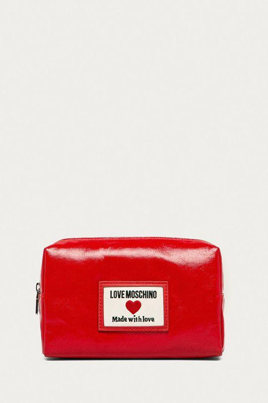 czerwony Love Moschino - Kosmetyczka Damski
