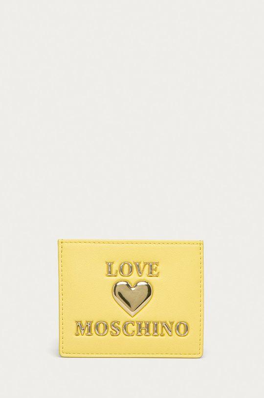 svetložltá Love Moschino - Peňaženka Dámsky