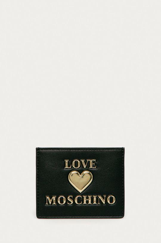 czarny Love Moschino - Portfel Damski