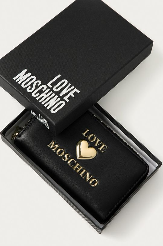 čierna Love Moschino - Peňaženka