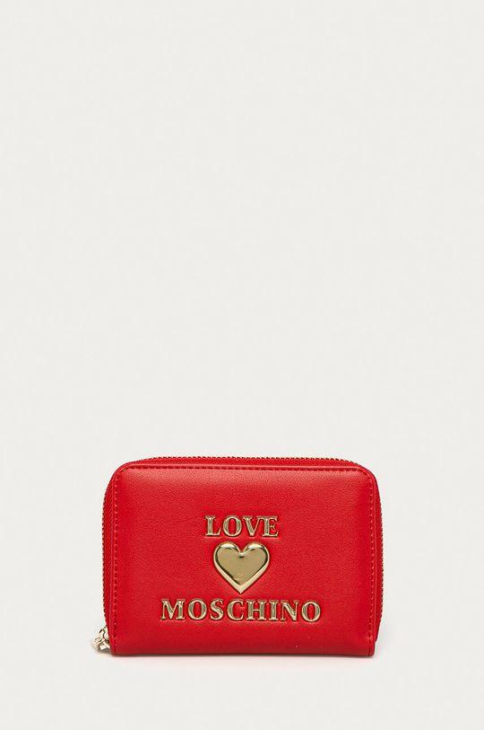 červená Love Moschino - Peňaženka Dámsky