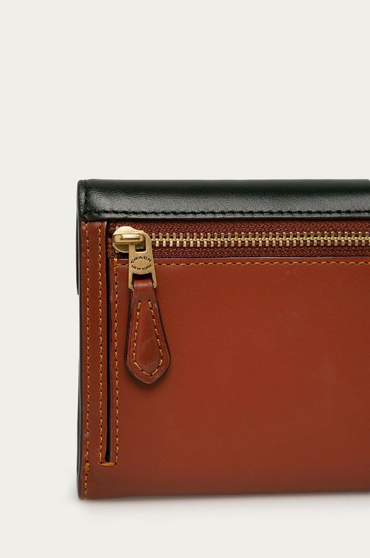 Coach - Kožená peněženka černá