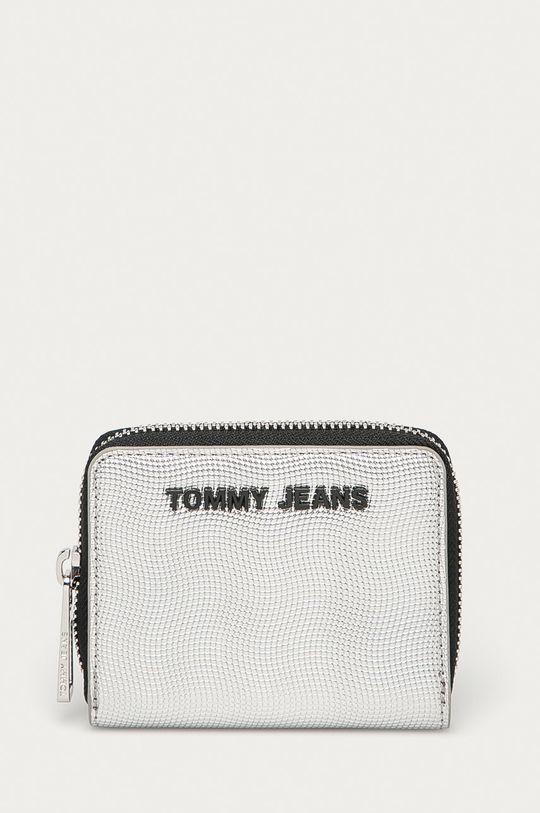 srebrny Tommy Jeans - Portfel Damski