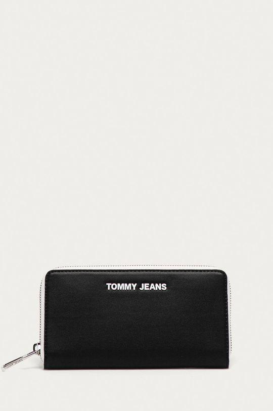 čierna Tommy Jeans - Peňaženka Dámsky