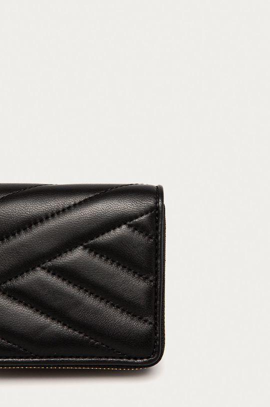 čierna Tory Burch - Kožená peňaženka