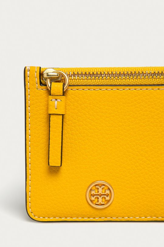 Tory Burch - Kožená peňaženka žltá