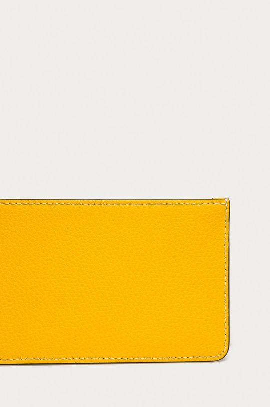 žltá Tory Burch - Kožená peňaženka