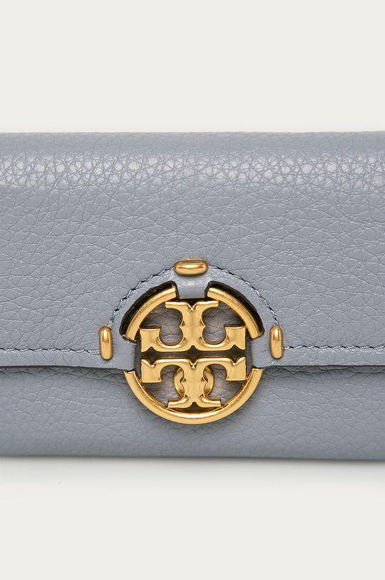 Tory Burch - Kožená peněženka světle modrá
