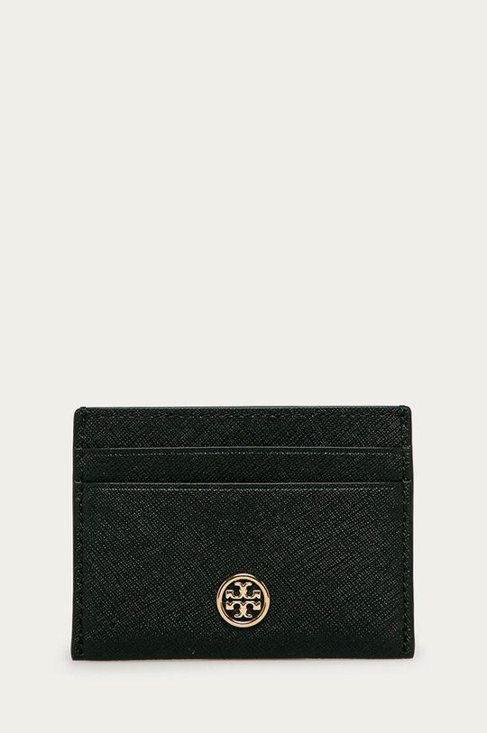 černá Tory Burch - Kožená peněženka Dámský