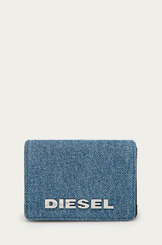 jasny niebieski Diesel - Portfel Damski