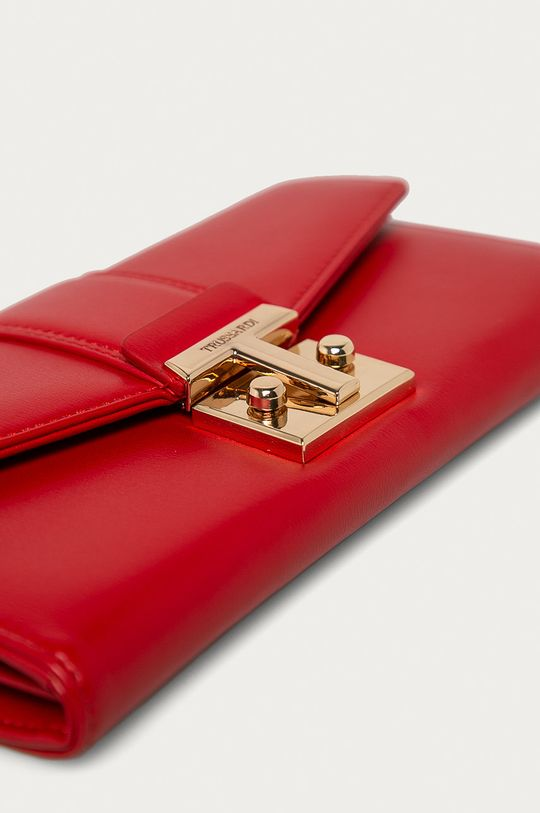 Trussardi Jeans - Peňaženka červená