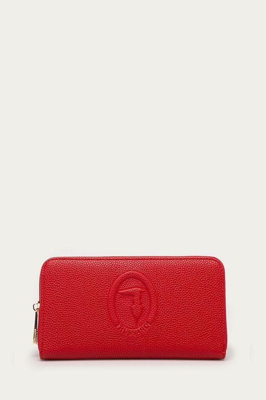 červená Trussardi Jeans - Kožená peňaženka Dámsky