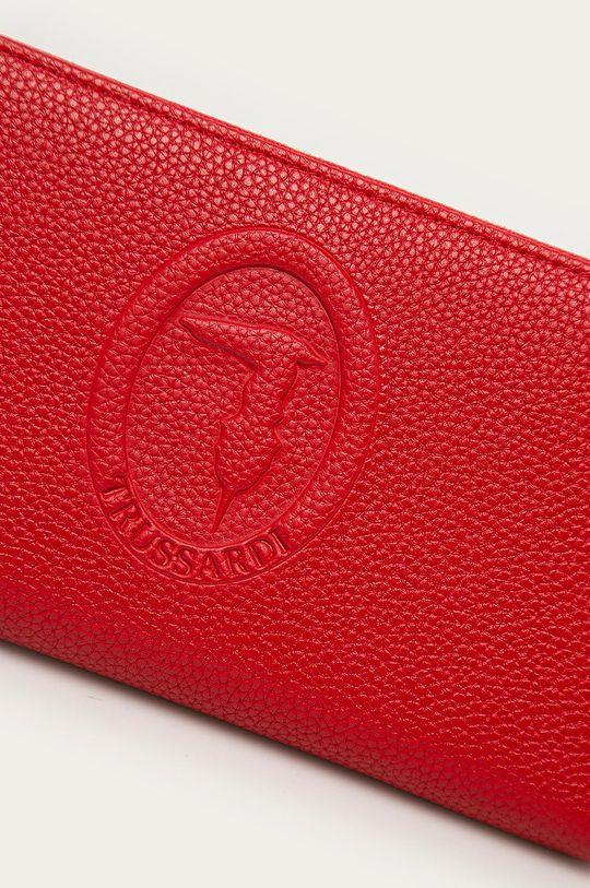 Trussardi Jeans - Kožená peňaženka červená