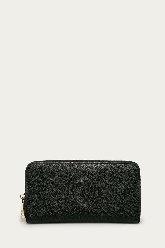 čierna Trussardi Jeans - Kožená peňaženka Dámsky