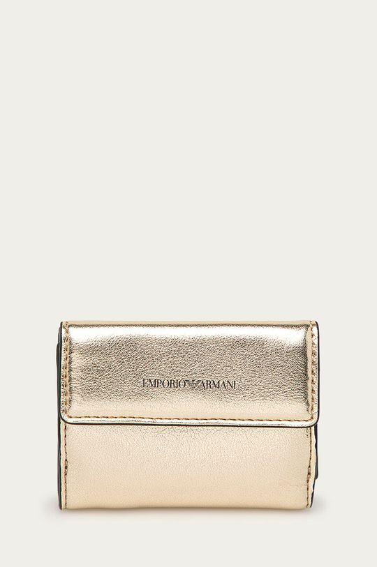 zlatá Emporio Armani - Peněženka Dámský