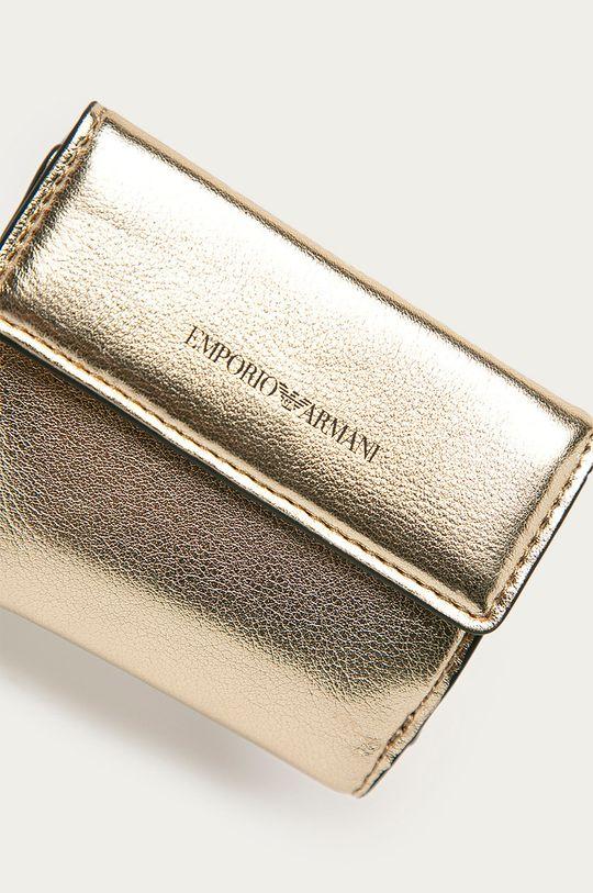 Emporio Armani - Peněženka zlatá