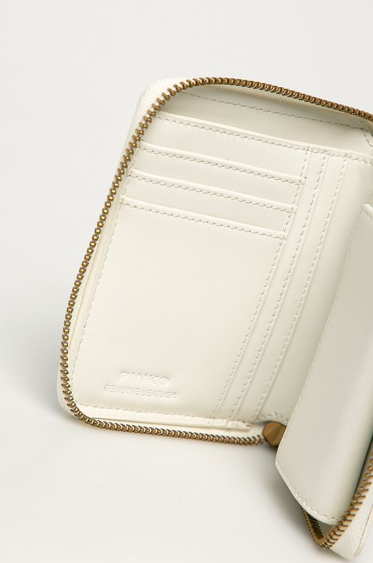 Pinko - Kožená peněženka bílá