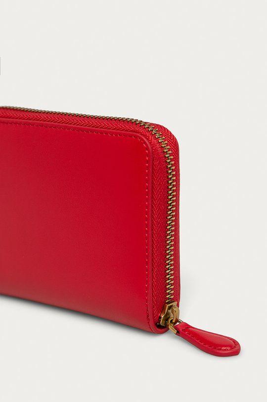 Pinko - Kožená peňaženka červená