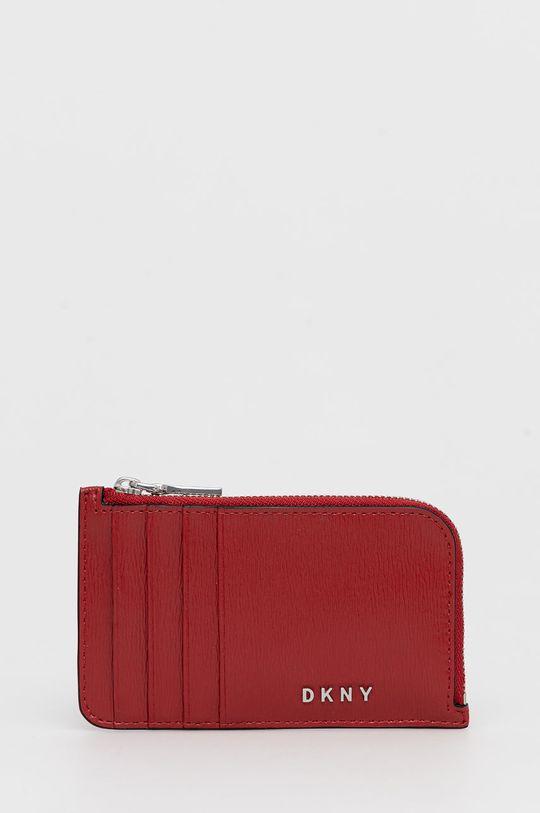 červená Dkny - Kožená peněženka Dámský