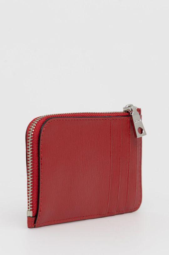 Dkny - Kožená peněženka červená
