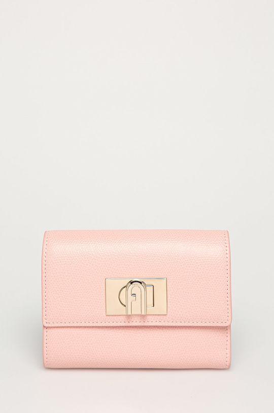 ružová Furla - Kožená peňaženka Ares Dámsky