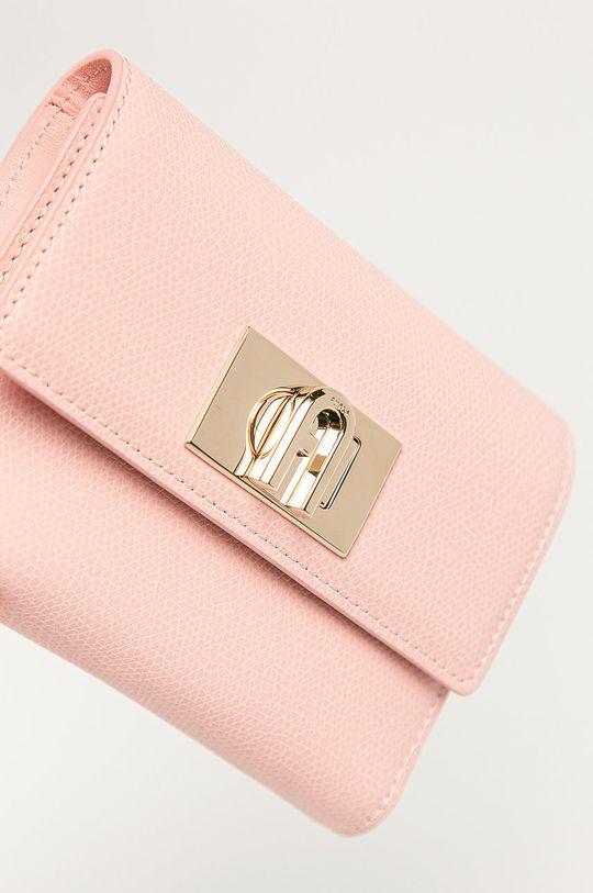 Furla - Kožená peňaženka Ares ružová