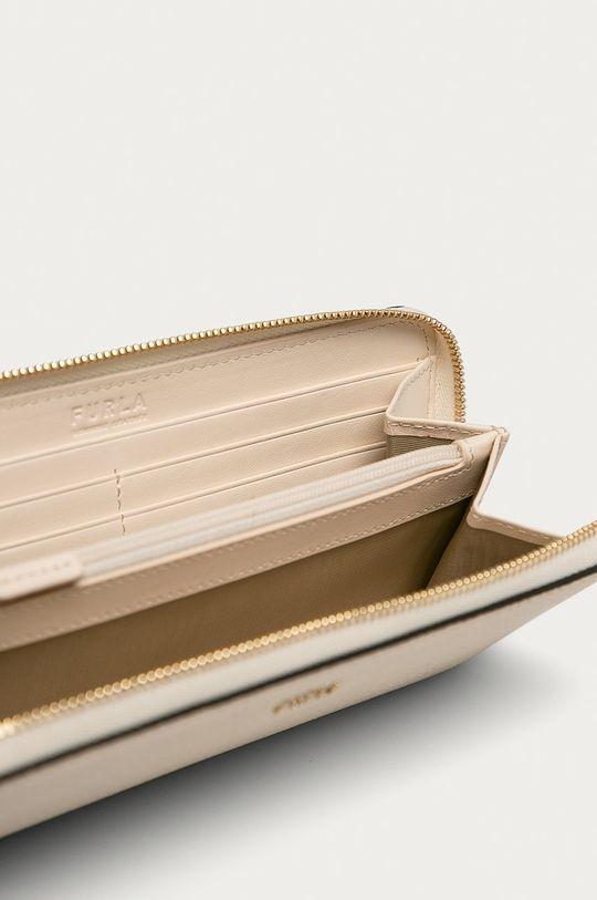 Furla - Kožená peněženka smetanová