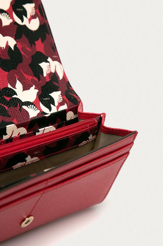 Furla - Kožená peněženka Babylon červená