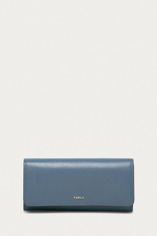 modrá Furla - Kožená peněženka Babylon Dámský
