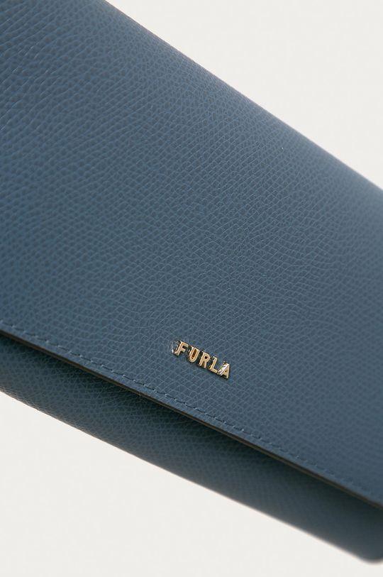 Furla - Kožená peněženka Babylon modrá