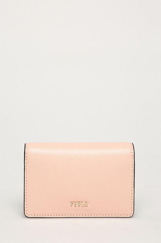 roz Furla - Portofel de piele Babylon De femei
