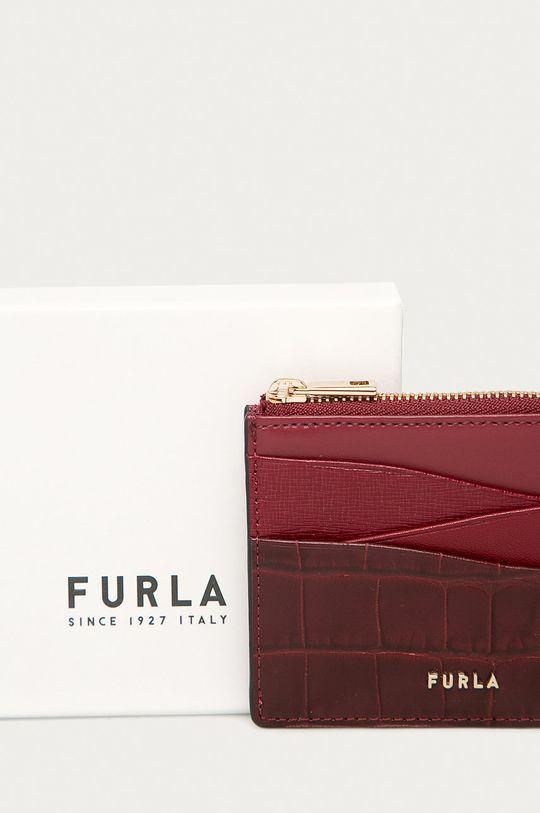 kaštanová Furla - Kožená peněženka Armonia