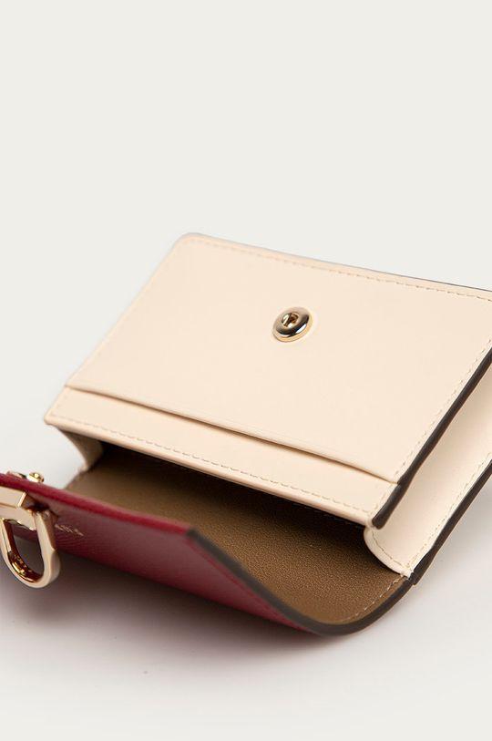Furla - Kožená peněženka Miss Mimi tmavě fialová