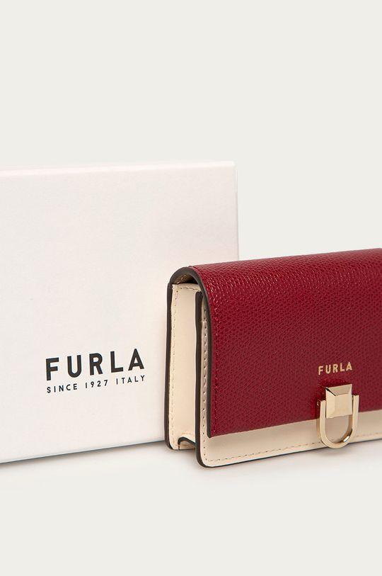 tmavě fialová Furla - Kožená peněženka Miss Mimi