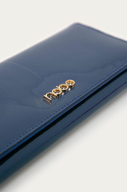 Nobo - Kožená peněženka námořnická modř