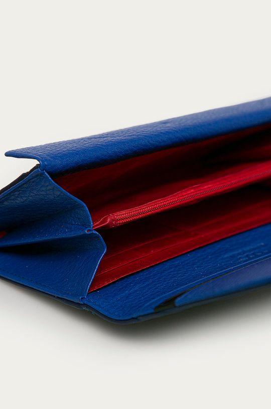 námořnická modř Nobo - Kožená peněženka