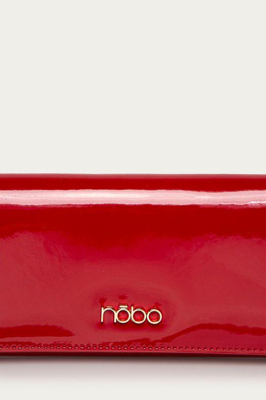 Nobo - Portfel skórzany czerwony