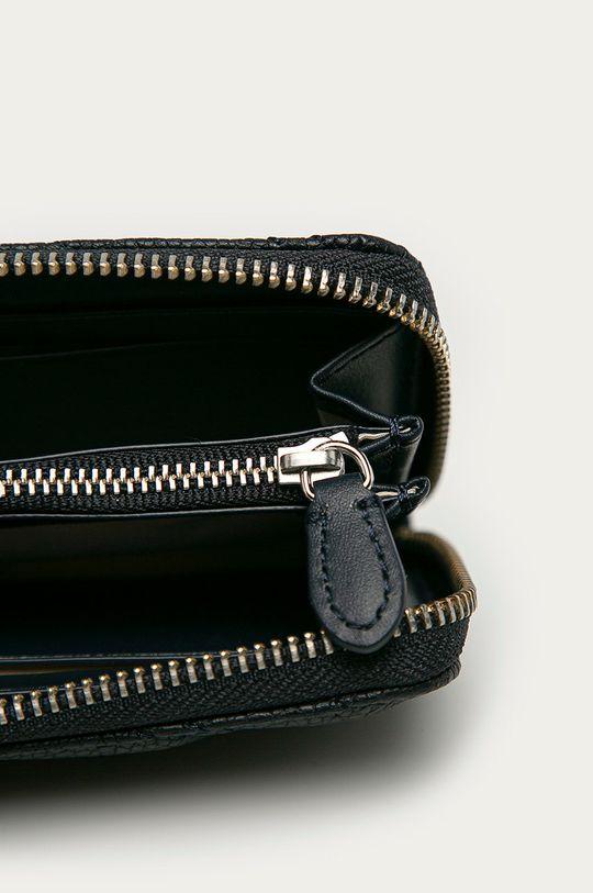 tmavomodrá Lauren Ralph Lauren - Kožená peňaženka