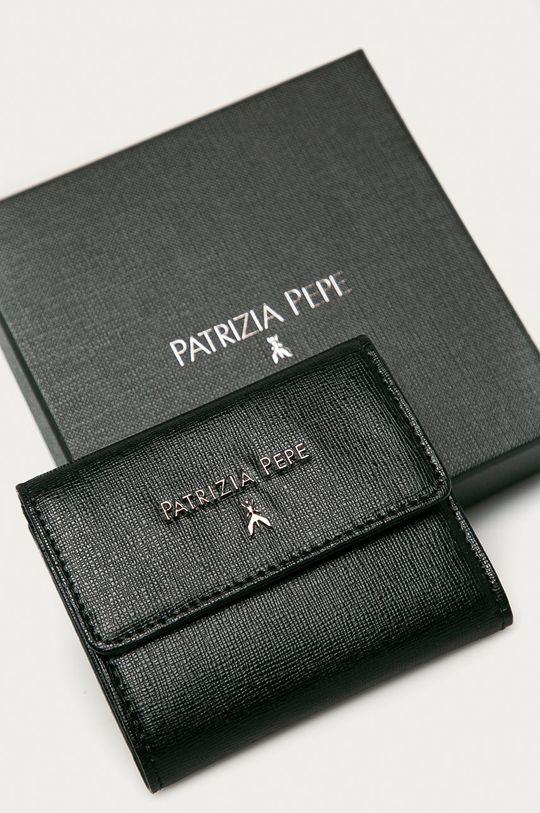 Patrizia Pepe - Portfel skórzany Damski