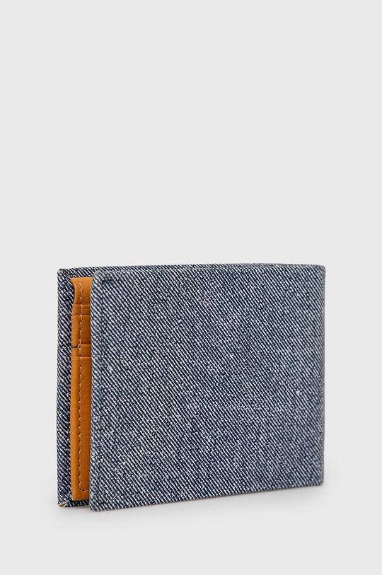 Pepe Jeans - Kožená peňaženka modrá