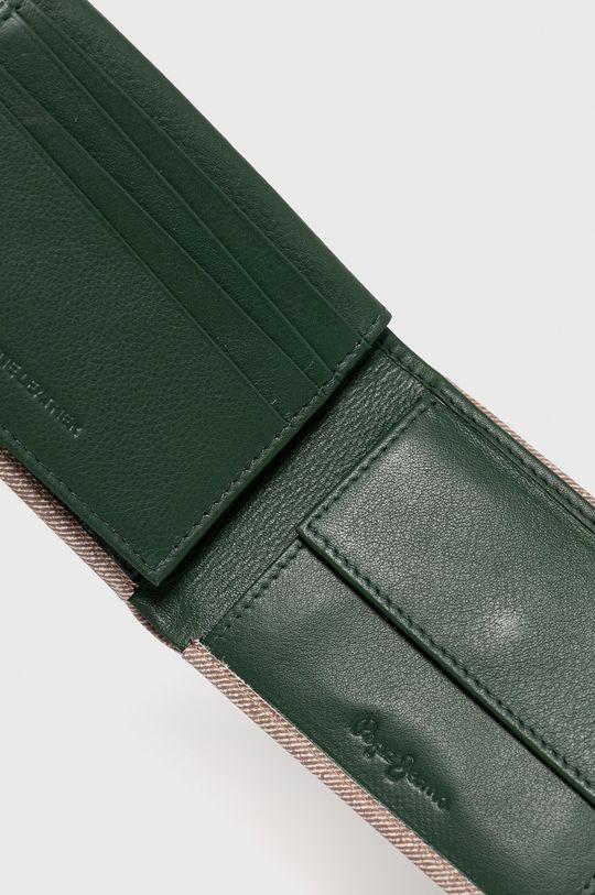 Pepe Jeans - Portofel de piele  100% Piele naturala