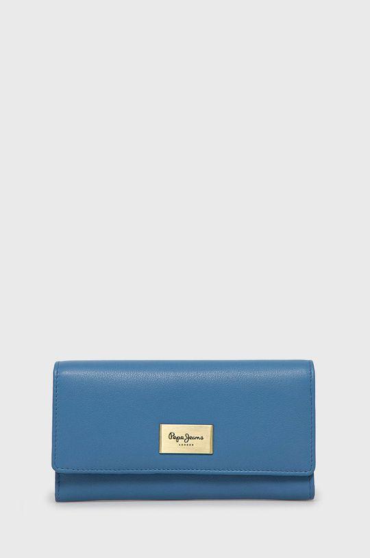 niebieski Pepe Jeans - Portfel skórzany Damski