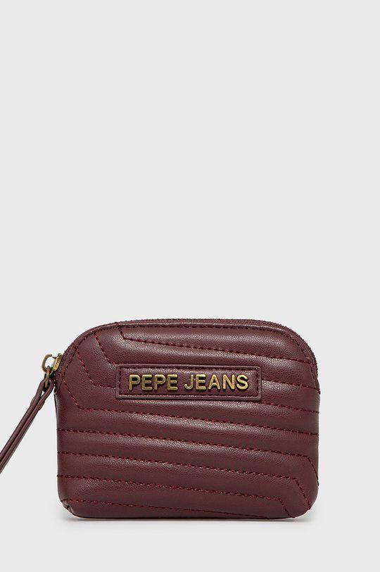 mahoniowy Pepe Jeans - Portfel Damski