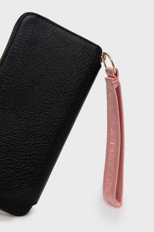 BIMBA Y LOLA - Kožená peňaženka čierna
