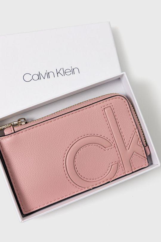 růžová Calvin Klein - Peněženka