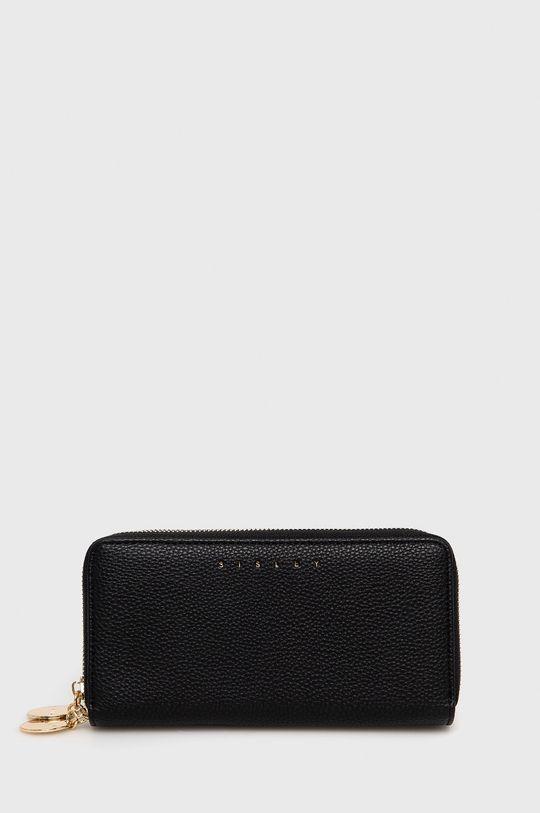černá Sisley - Peněženka Dámský